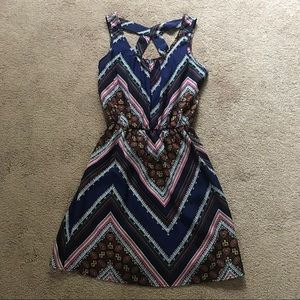 Charlotte Russe Multi-color Dress